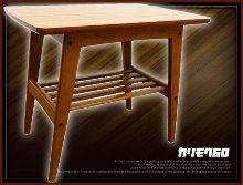 3カリモク60サイドテーブル買取画像