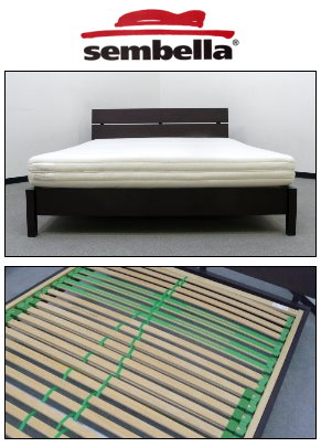 センベラのベッドの画像