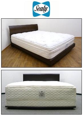 シーリーのベッド買取画像