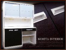 14-モリタインテリア食器棚買取