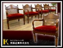 14-飛騨家具ダイニングチェア買取